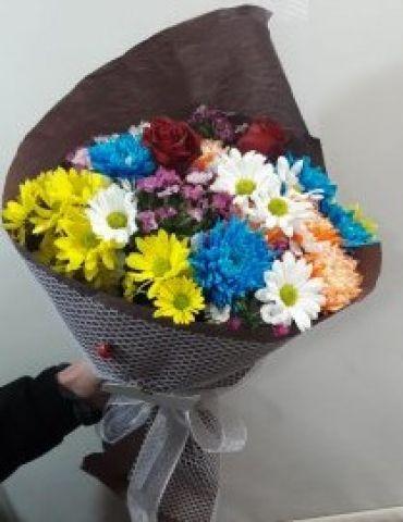 mevsim çiçegi buket